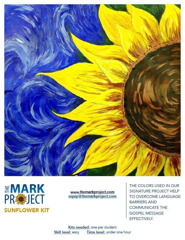 Sunflower Painting Kit - Decorative