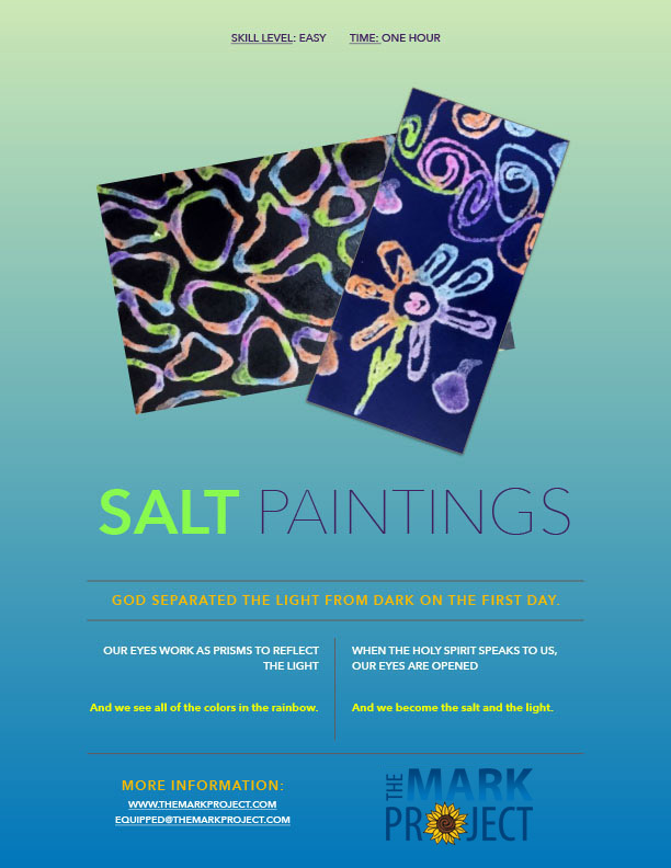 Salt Painting Kit